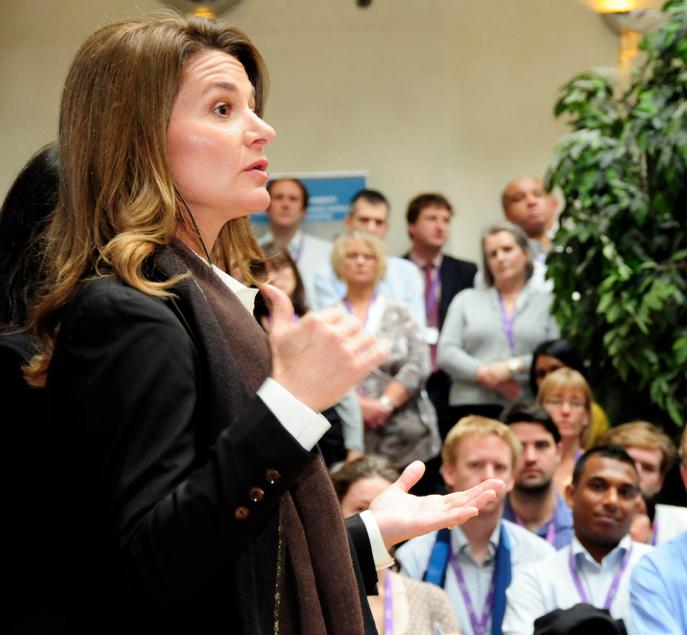 Melinda Gates Uses Her Power for Good
