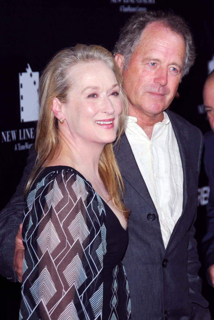 Meryl Streep and Donald Gummer