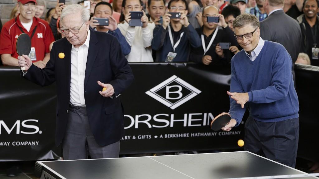 Warren Buffett and Bill Gates