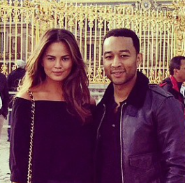 John Legend and Chrissy Teigan Hire Food Trucks to Feed NYC Protestors