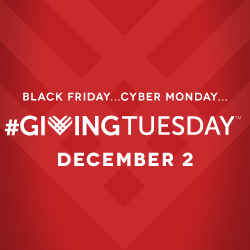 Giving Tuesday: Two Great Organizations, Thousands of Participants, One Day to Give