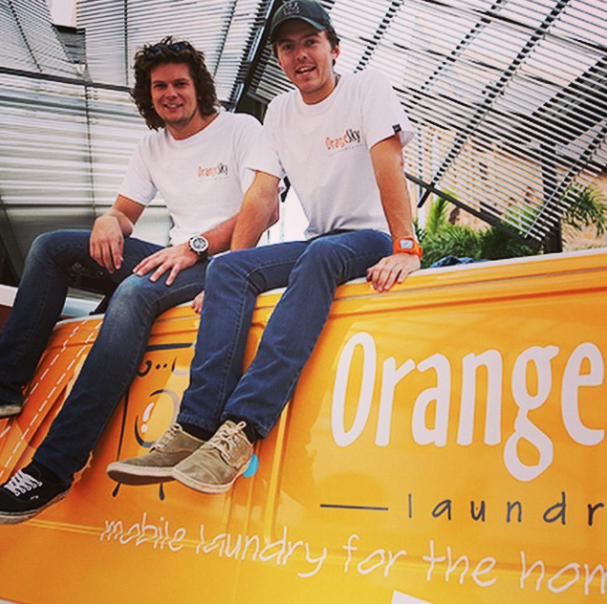 Orange Sky Laundry Helps Those In Need