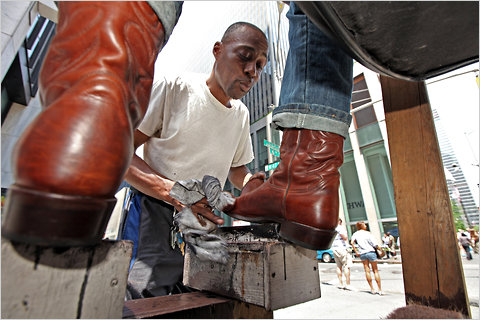 Shoeshine Man