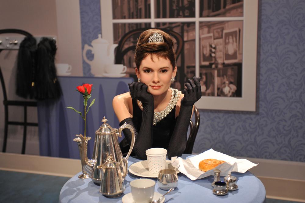 Audrey Hepburn Wax Figure