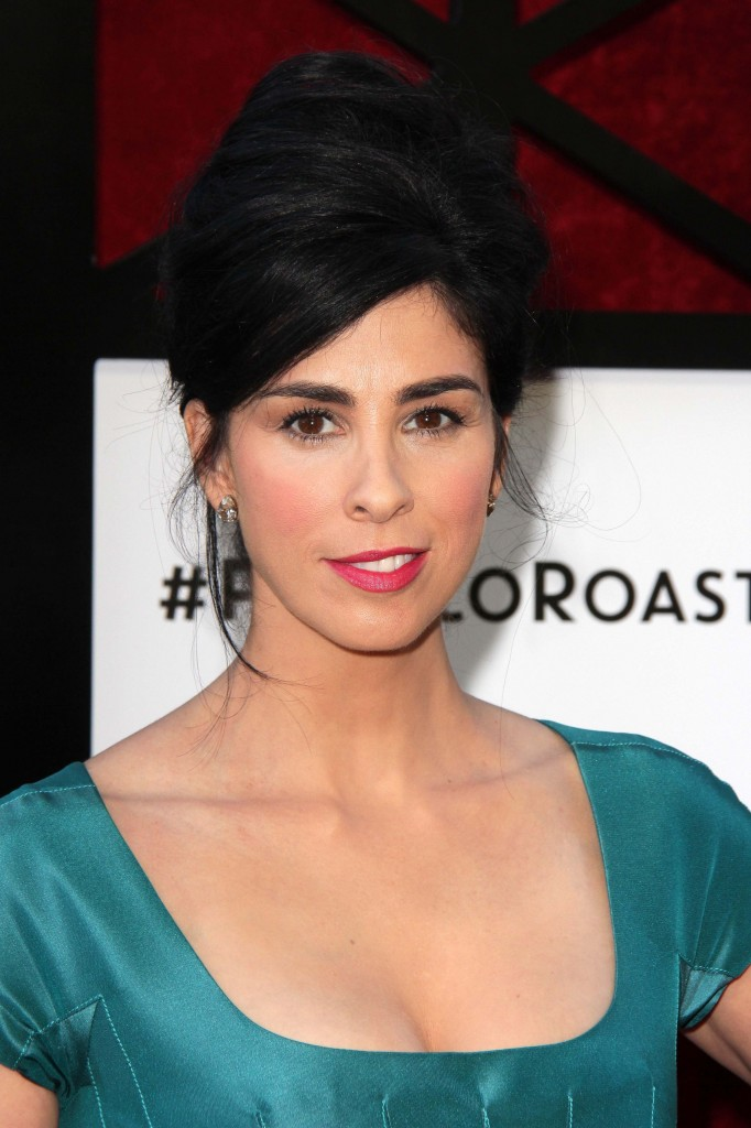 "Sarah Silverman Helps Support ""Clear Eyes, Full Hearts, Can Chose."""