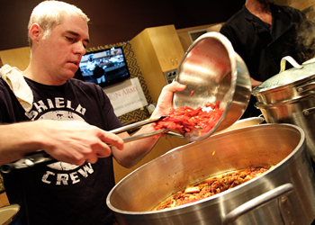 High-Profile Chef, Jeff Ansorge, is the New Soup Kitchen Savior