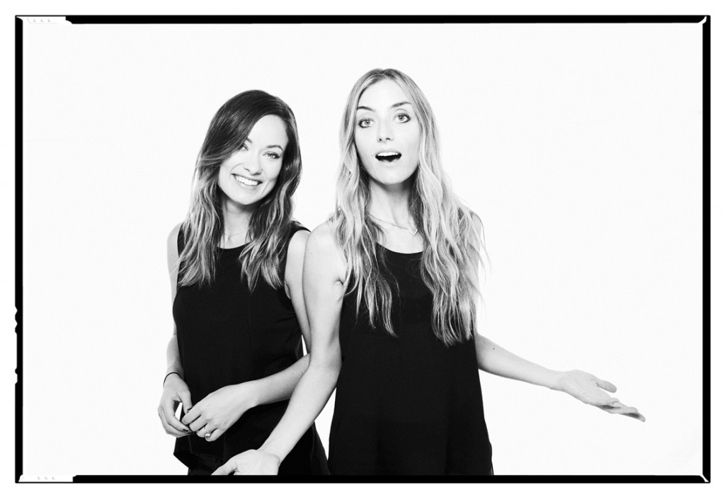 """Olivia Wilde and Barbara """"Babs"""" Burchfield, co-founders of Conscious Commerce"""