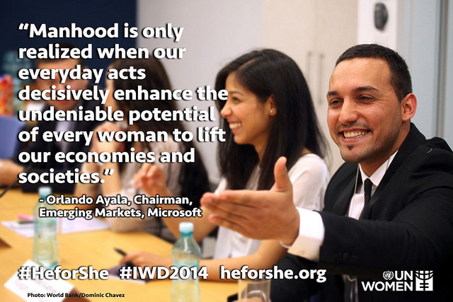 UN Women's HeForShe Campaign