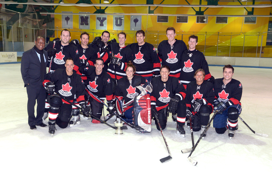 NYC Lawyers Hit the Ice for Harlem Hockey Charity