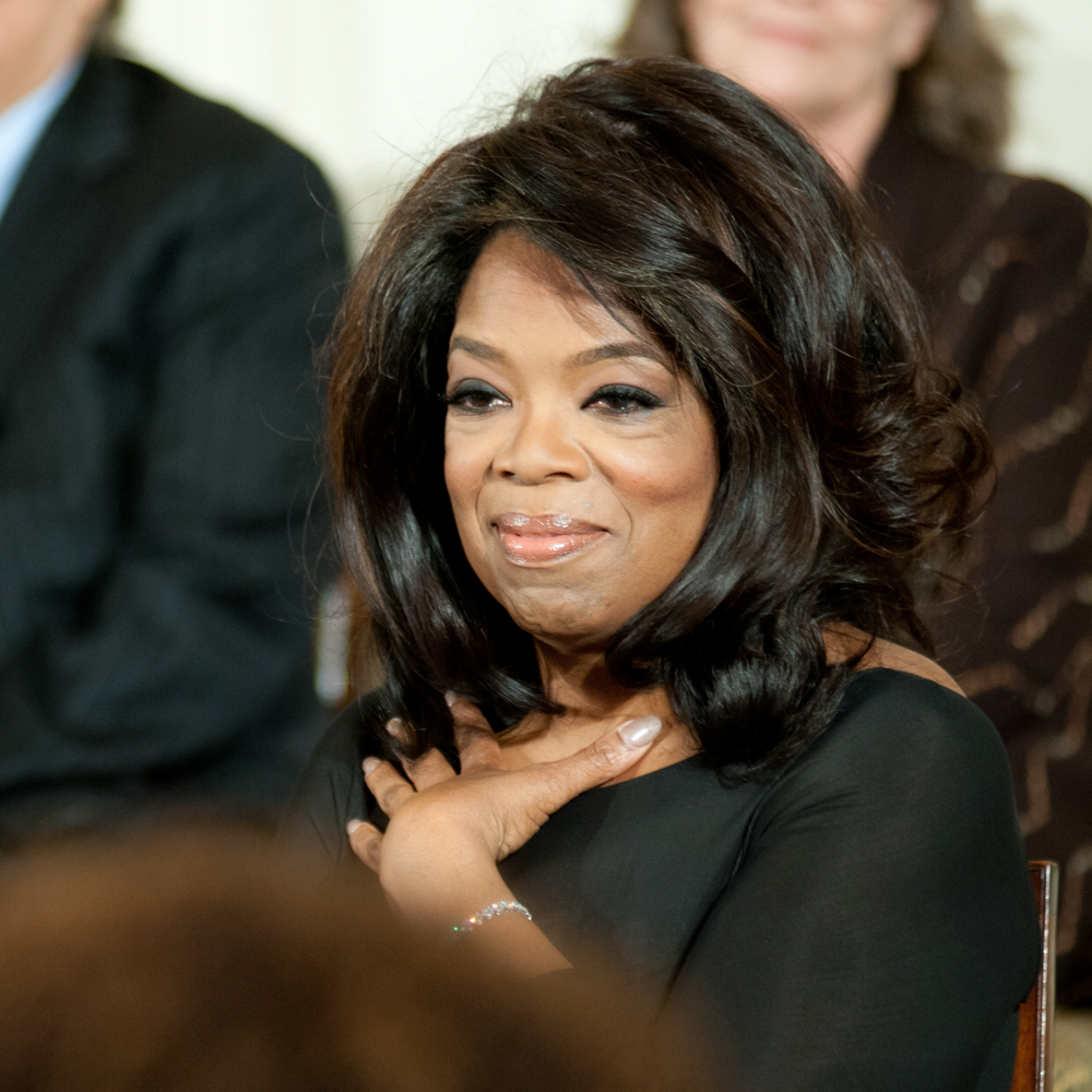 Oprah Mixes Charity and Chai