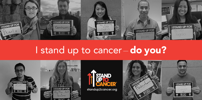 Stand Up To Cancer Partners with MasterCard for Charity