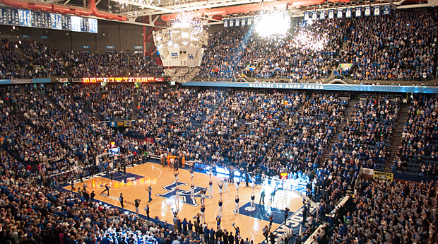 University Of Kentucky Cancels Alumni Charity Game