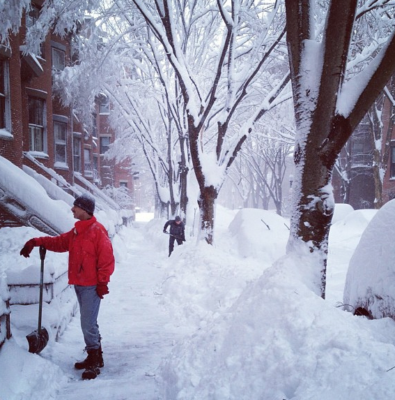 How to be Neighborly in Boston this Winter