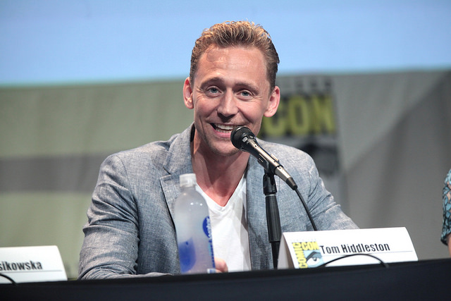 A picture of Tom Hiddleston.