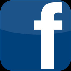 An image of the Facebook icon.