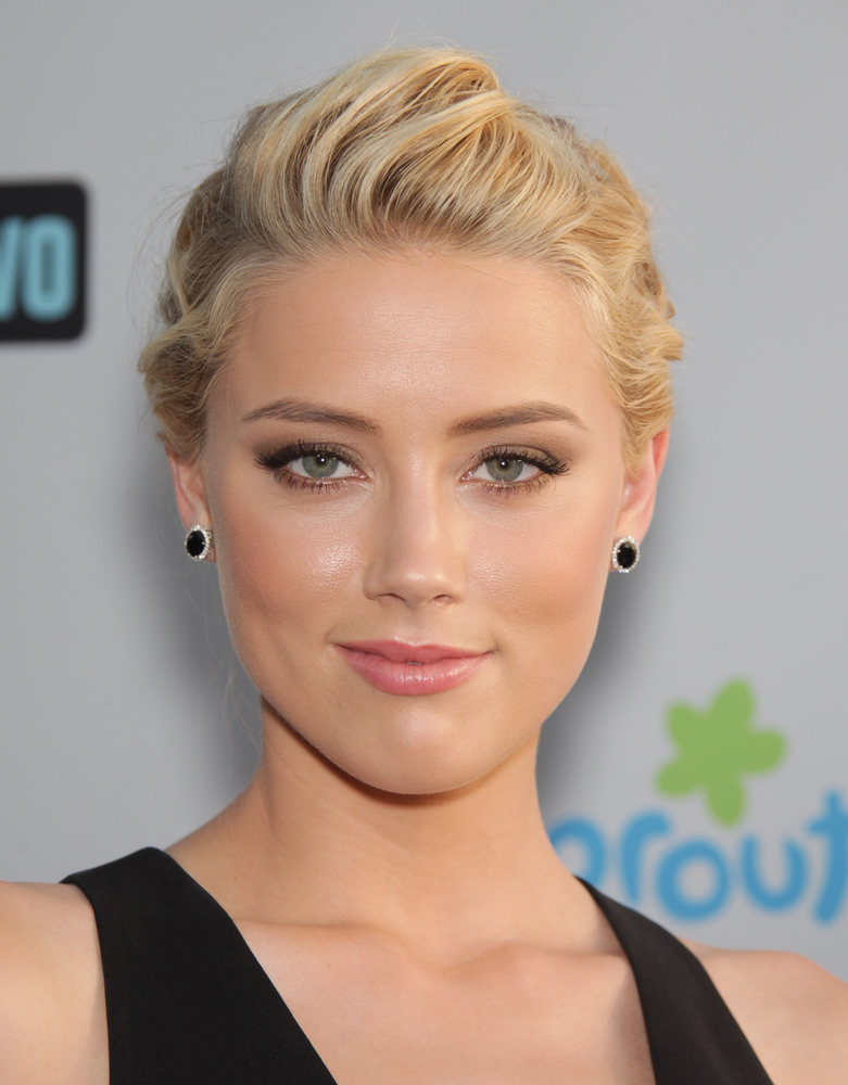 A photo of Amber Heard, former wife of Johnny Depp.
