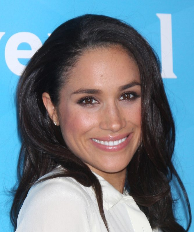 A photo fo Meghan Markle, the Duchess of Sussex.