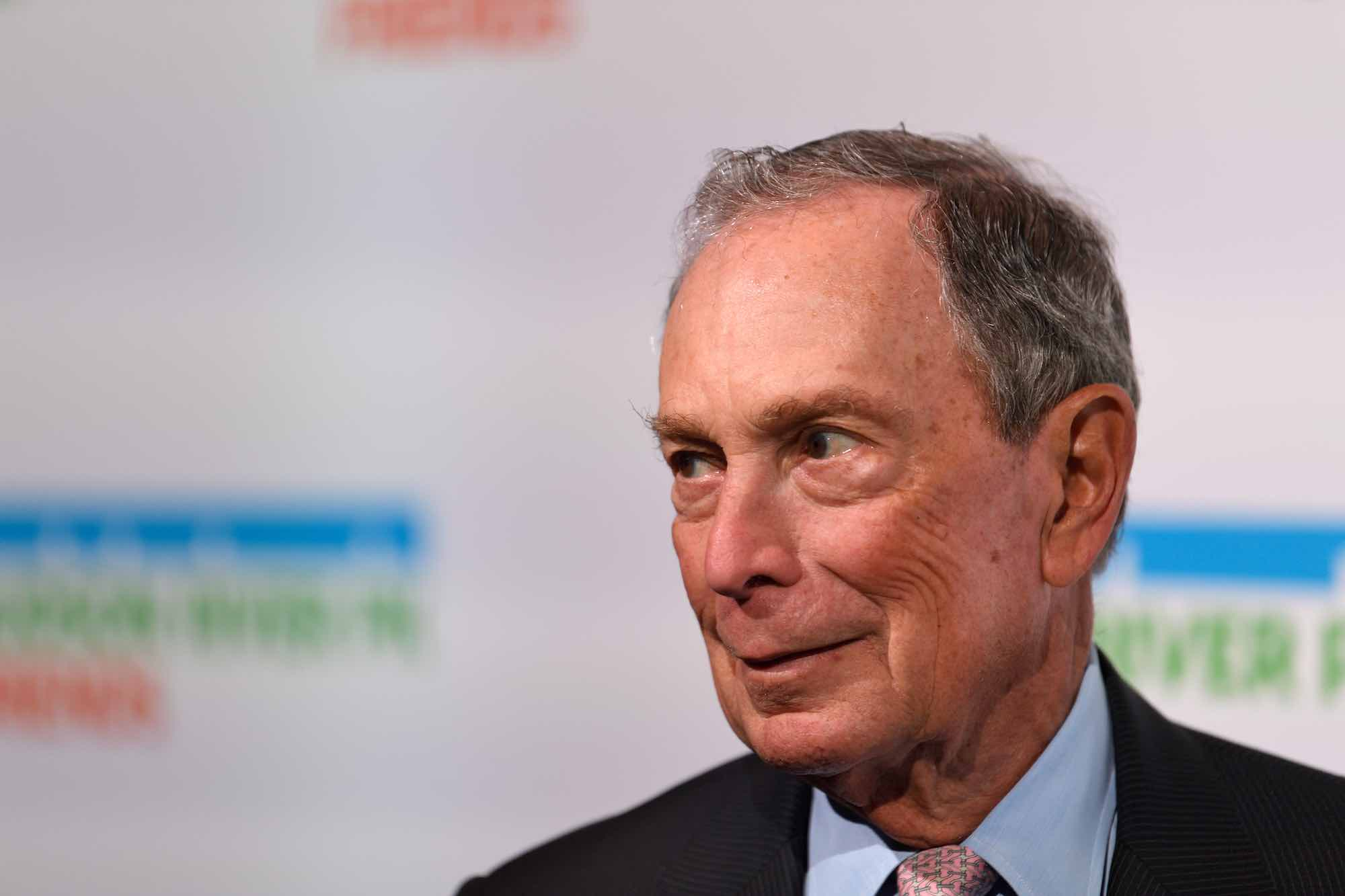 Michael Bloomberg at an event