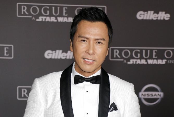 Donnie Yen in white tux