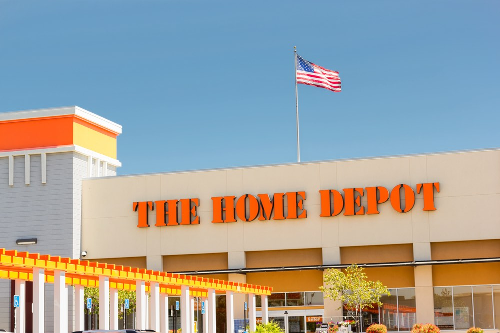 The Home Depot donates masks