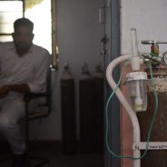 A Man in India is Buying Oxygen Tanks and Giving Them Away